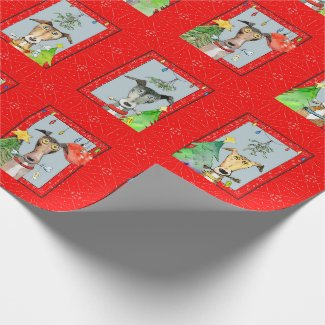 Greyhound wrapping paper (a512) title=