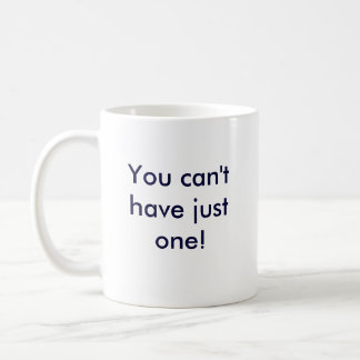 Greyhounds are like potatoe chips coffee mug