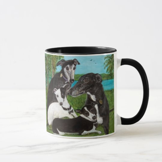 Greyhounds Dog Mug