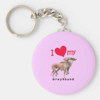Greyhounds Key Ring