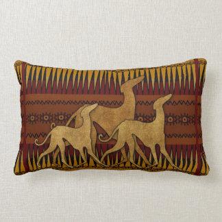 Greyhounds of lAzawakh Lumbar Cushion