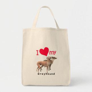 Greyhounds Canvas Bag