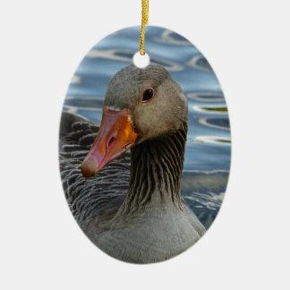 Greylag Goose, Anser anser, Graugans Christmas Ornament