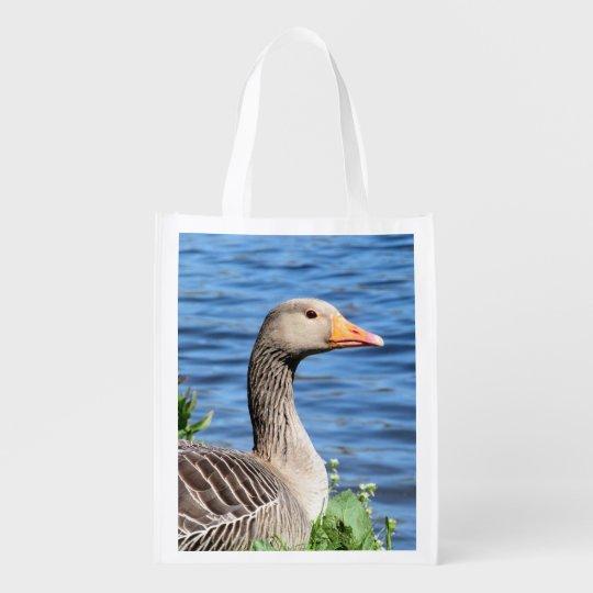 Greylag Goose Reusable Grocery Bag