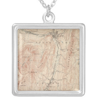 Greylock, Massachusetts Silver Plated Necklace