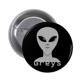 Greys 6 Cm Round Badge