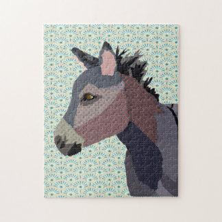 Grey's Donkey Art Puzzle