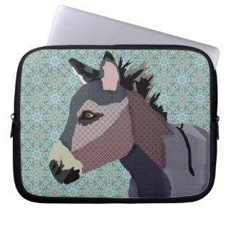 Grey's Donkey Blue Computer Sleeve
