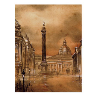 Greys Monument Post Card