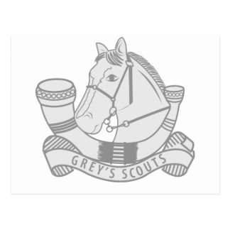 Greys Scouts Postcard