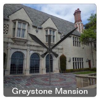 Greystone Mansion Wall Clock