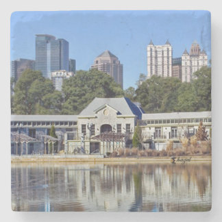 Greystone Piedmont Park Atlanta Marble Coaster Stone Coaster