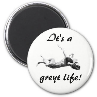 Greyt life greyhound magnet