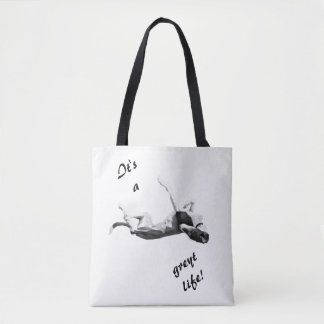 Greyt Life Greyhound Tote Bag