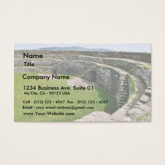 Griahan Of Aileach Stone Fort Business Card