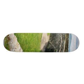 Griahan Of Aileach Stone Fort Custom Skateboard