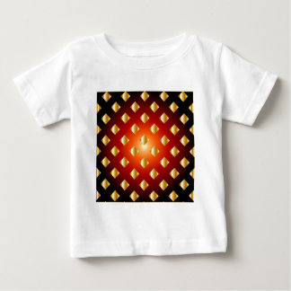 Grid background baby T-Shirt