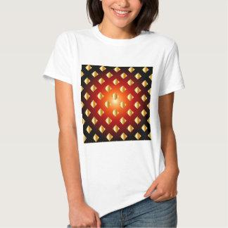 Grid background tshirts