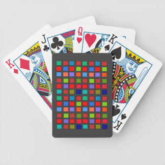 Grid Bicycle Playing Cards