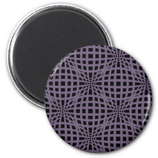 Grid Line Bulges Magnet