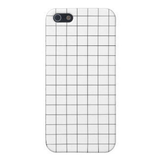 Grid print iPhone case iPhone 5 Case