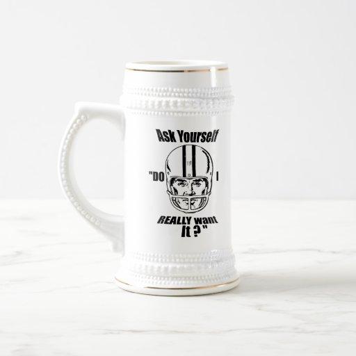 Gridiron American football Beer Mens Athlete Mugs