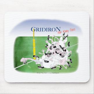 Gridiron -'hail mary pass', tony fernandes mouse mat