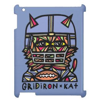 """GridIron Kat"" 631 Art iPad Case"