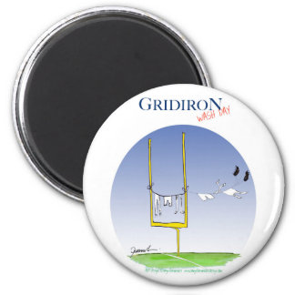 Gridiron - wash day, tony fernandes magnet