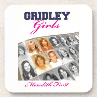 Gridley Girls Book Cover Drink Coasters