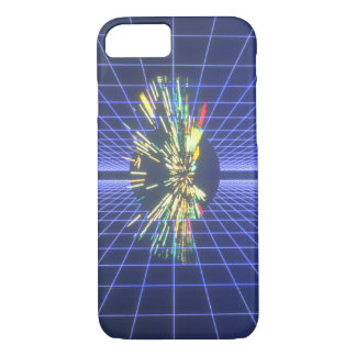 Grids in Space. (grids;_Space Scenes iPhone 7 Case