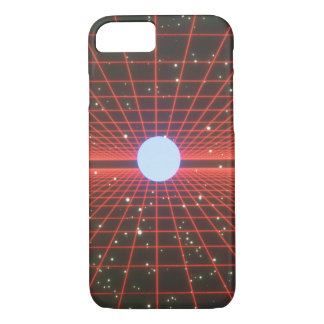 Grids in Space. (space;grids_Space Scenes iPhone 7 Case