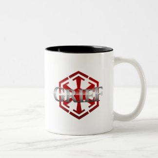 Grief SWTOR Guild Gear Two-Tone Mug
