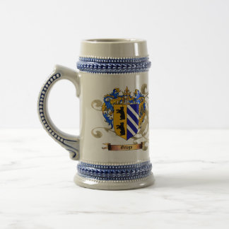 Griego Shield of Arms (2-sided) 18 Oz Beer Stein