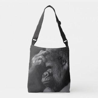 Grieving Gorilla Crossbody Bag