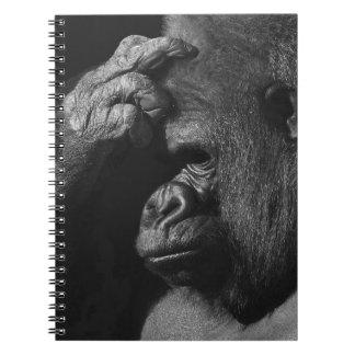 Grieving Gorilla Notebook