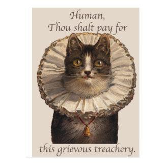 Grievous Treachery Postcard