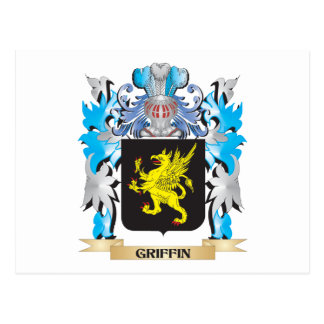 Griffin Coat of Arms - Family Crest Post Cards