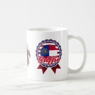 Griffin, GA Classic White Coffee Mug