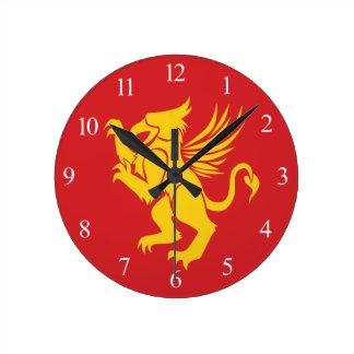 Griffin Round Clock