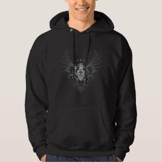 Griffin Shield Sugar Skull (dark) Hooded Sweatshirt