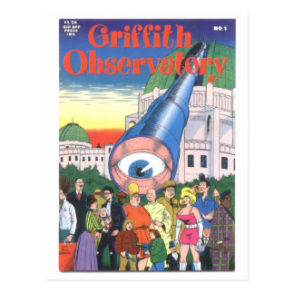 """""""Griffith Observatory"""" #1, 1979 Post Card"""