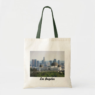 Griffith Observatory and Downtown Los Angeles Budget Tote Bag