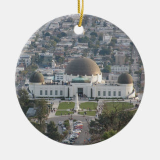 Griffith Observatory Christmas Ornament