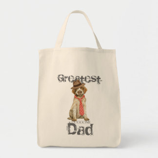 Griffon Dad Grocery Tote Bag