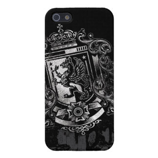 Griffon Heraldic Shield Crest iPhone 5 Cover