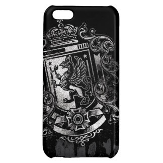 Griffon Heraldic Shield Crest Cover For iPhone 5C