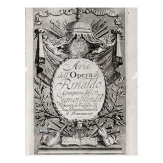 Griffon' of Rene Robert Cavelier de la Salle Postcard
