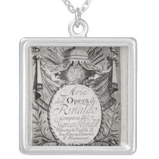 Griffon' of Rene Robert Cavelier de la Salle Silver Plated Necklace