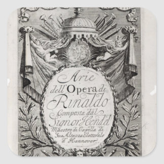 Griffon' of Rene Robert Cavelier de la Salle Square Sticker
